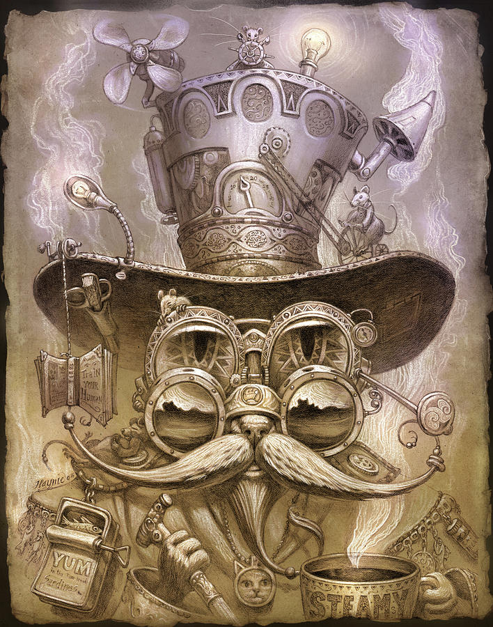 Cat daddy steam by Jeff Haynie