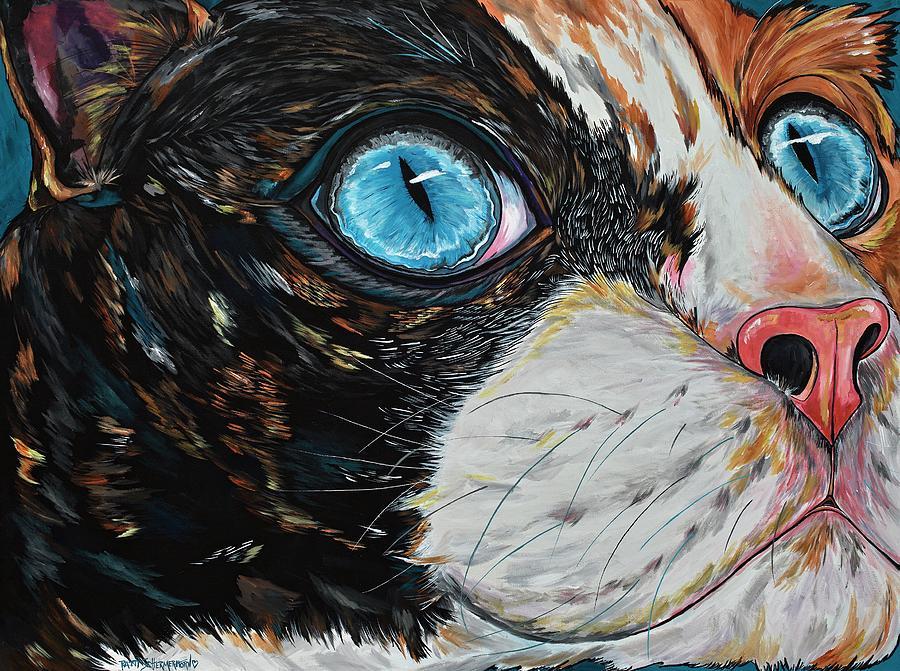 Cat In Color by Patti Schermerhorn