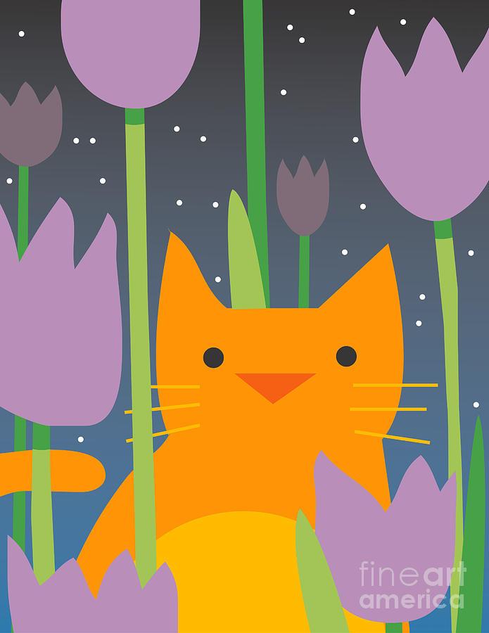 Play Digital Art - Cat Look 3 by Artistan