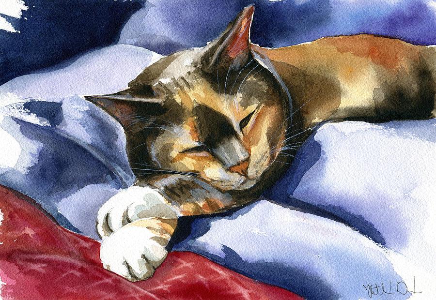 Cat Nap by Dora Hathazi Mendes