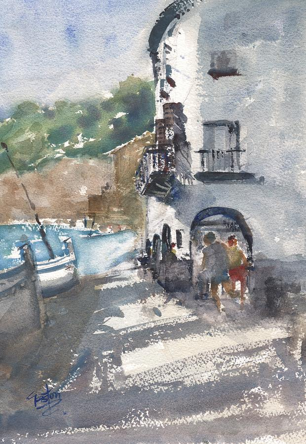 Catalan Seaside by Gaston McKenzie