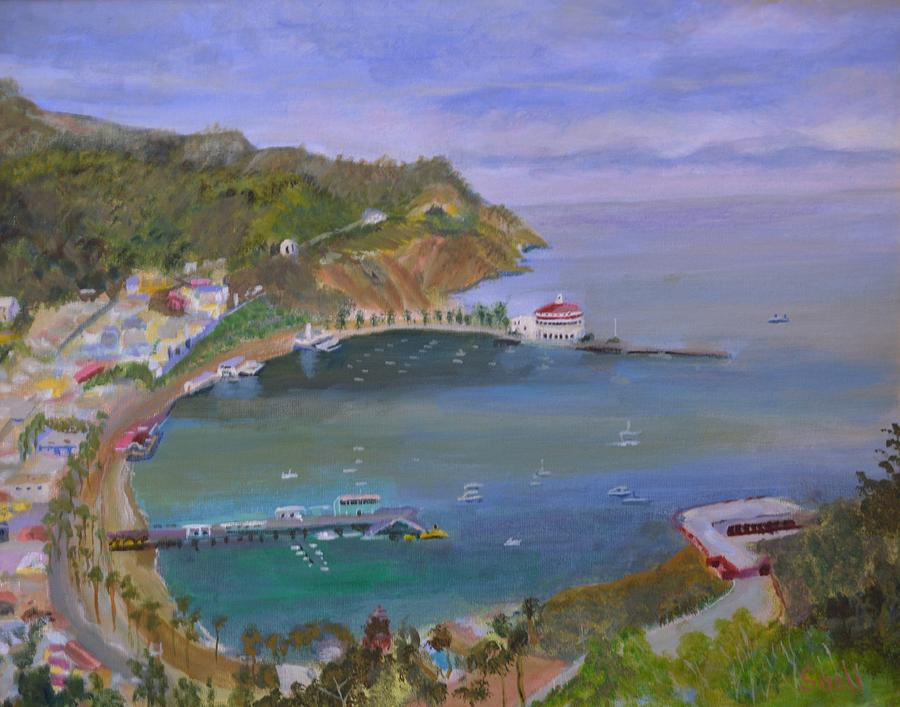 Oil Painting - Catalina by Roger Snell