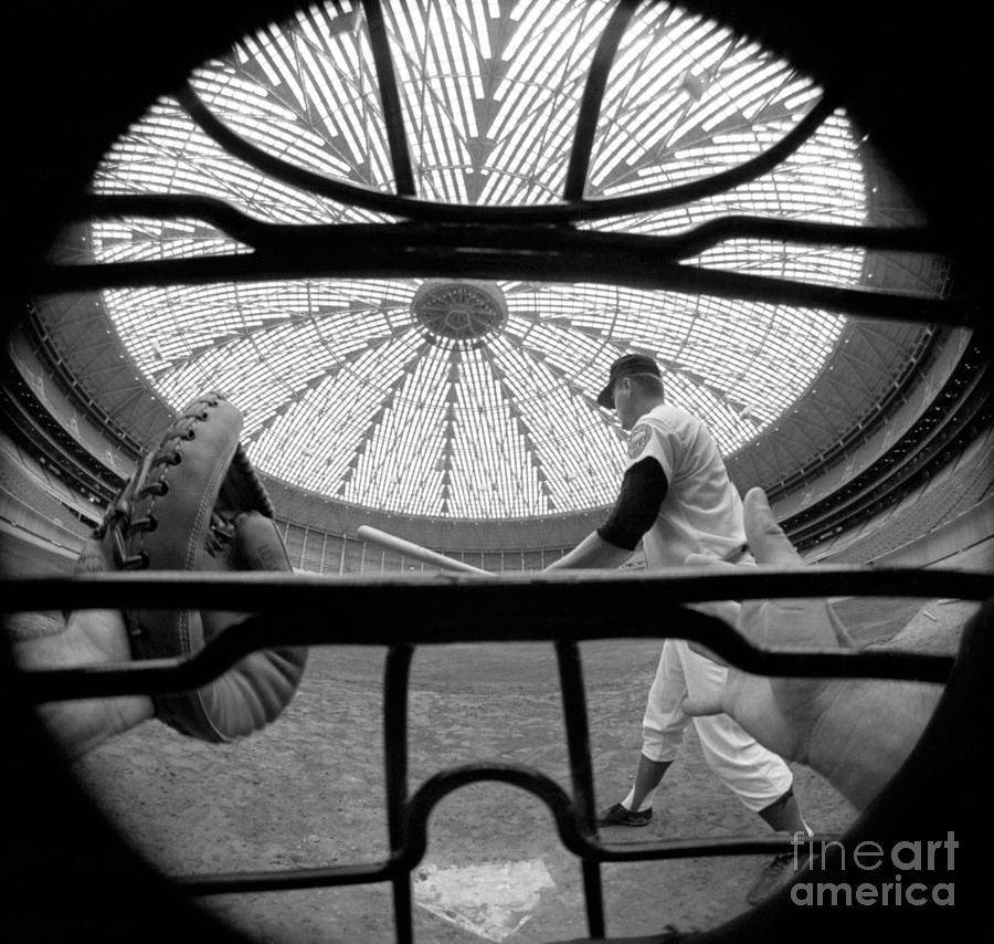 Catchers Eye View Photograph by Bettmann