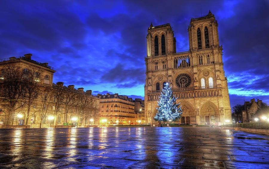 Cathédrale Notre-dame De Paris Photograph by Filip.farag