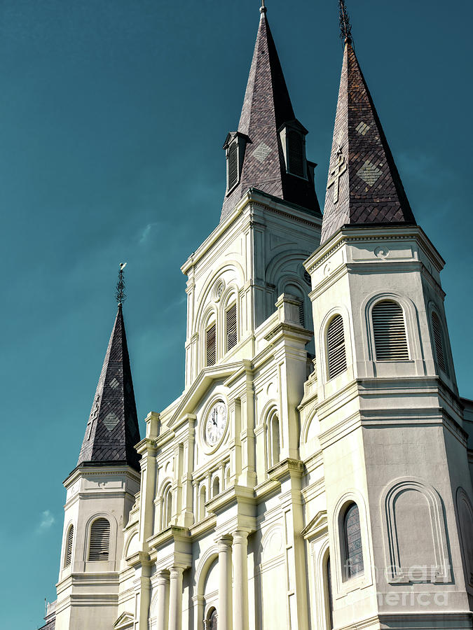 Cathedral-Basilica of Saint Louis in New Orleans by John Rizzuto