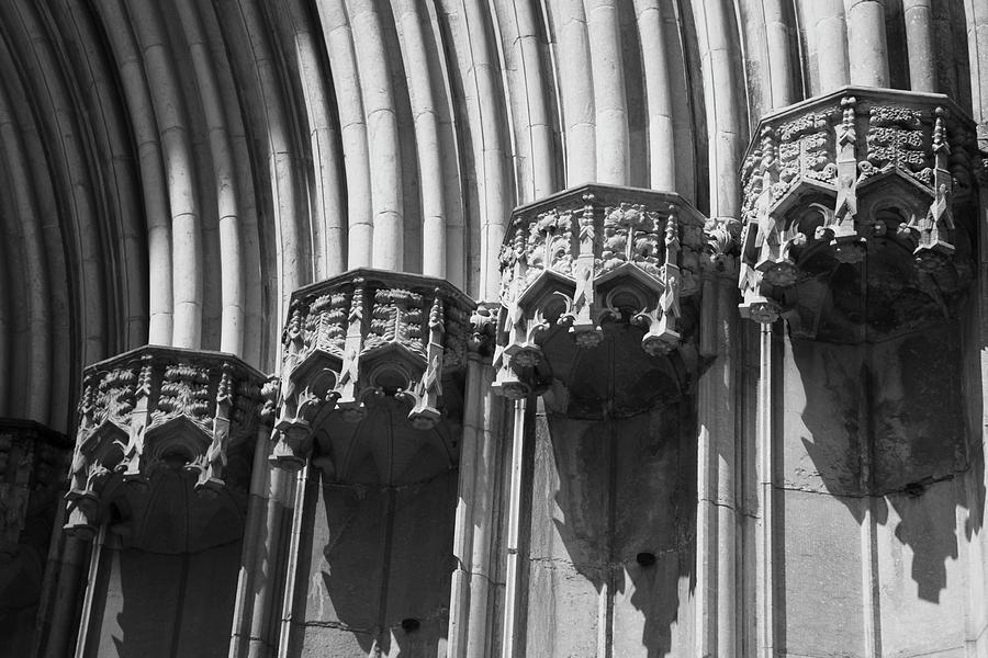 Cathedral Fragment Spain by Yulia Kazansky