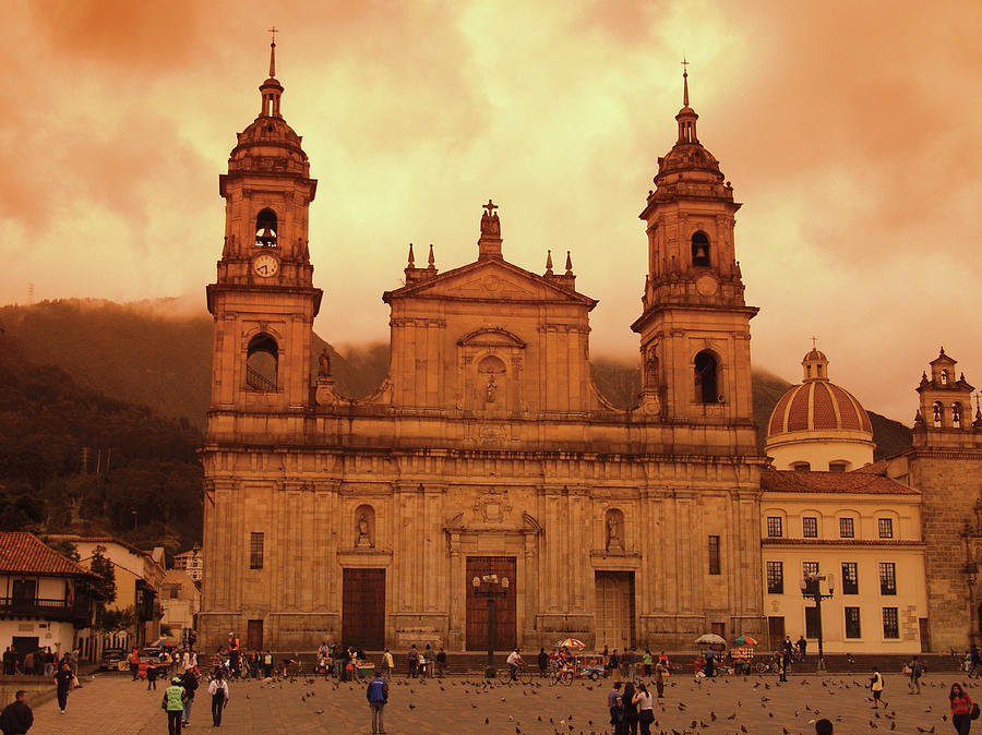 Cathedral In Bogota, Colombia Photograph by Medioimages/photodisc