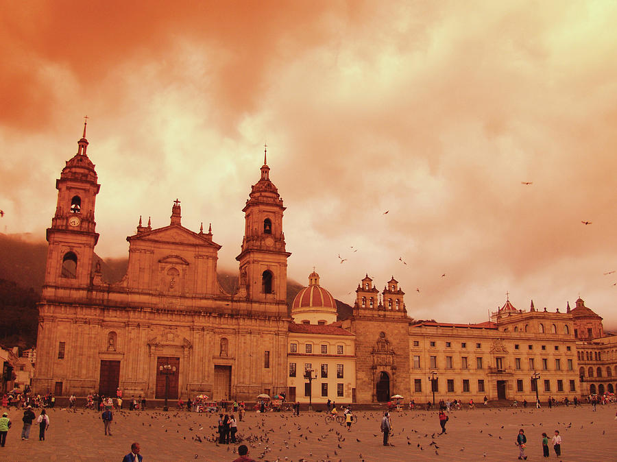 Cathedral In Bogota, Colombia, South Photograph by Medioimages/photodisc