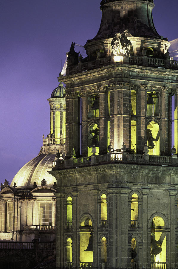 Cathedral Metropolitana, Mexico City Photograph by Walter Bibikow