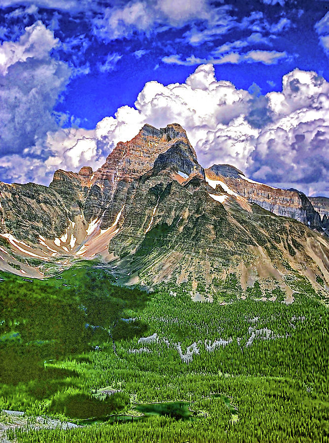 Cathedral Mountain Photograph