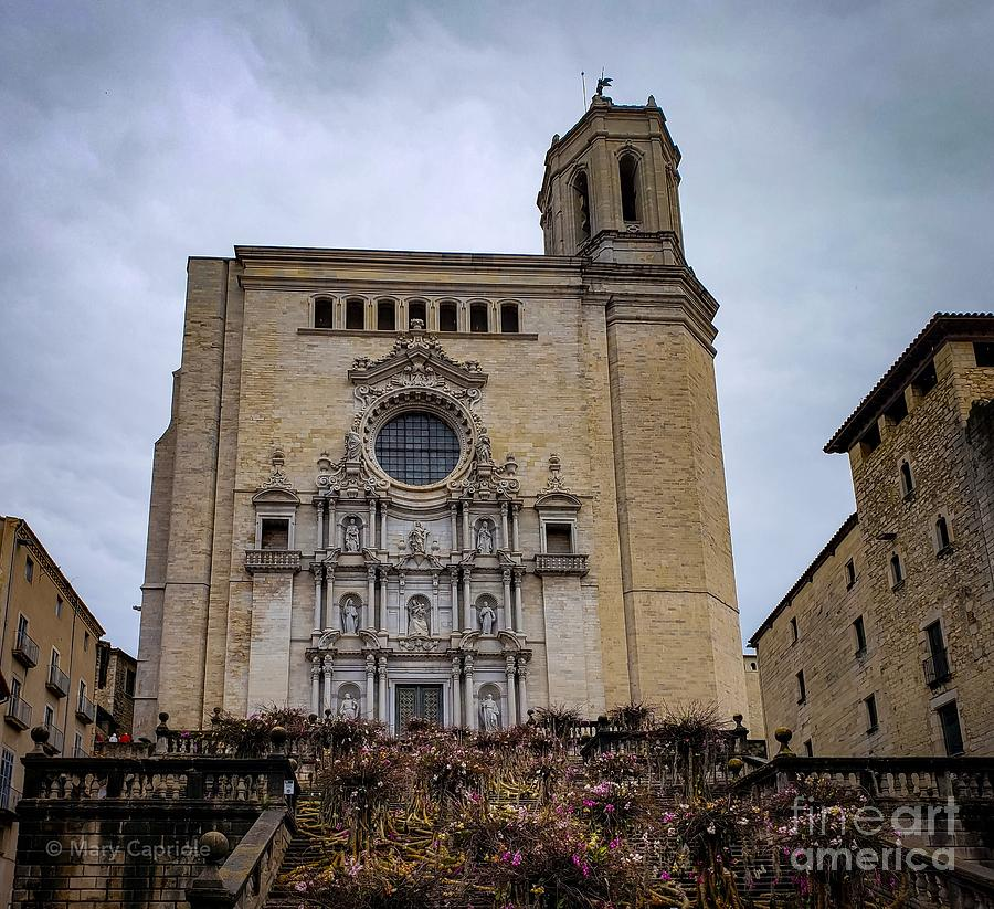 Cathedral of Girona  by Mary Capriole