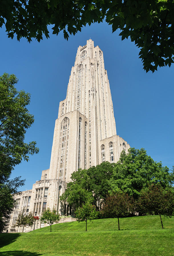 Cathedral Of Learning Building At The University Of Pittsburgh Photograph