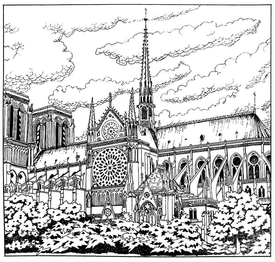Notre Dame de Paris- Our Lady of Paris by William Hart McNichols