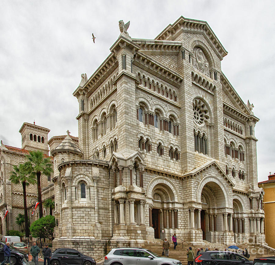 Cathedral of Our Lady Immaculate Monaco by Wayne Moran