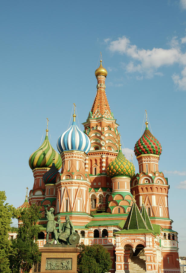 Cathedral Of Saint Basil The Blessed In Photograph by Travelif