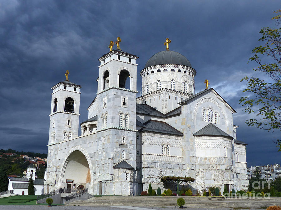 Cathedral of the Resurrection of Christ - Podgorica by Phil Banks
