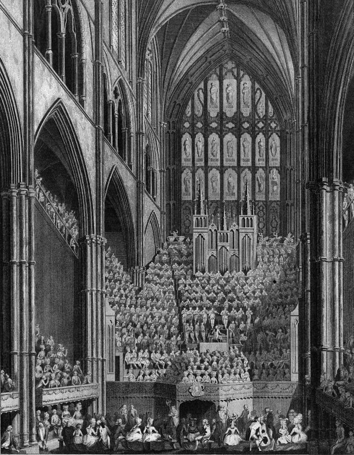 Cathedral Orchestra Digital Art by Hulton Archive
