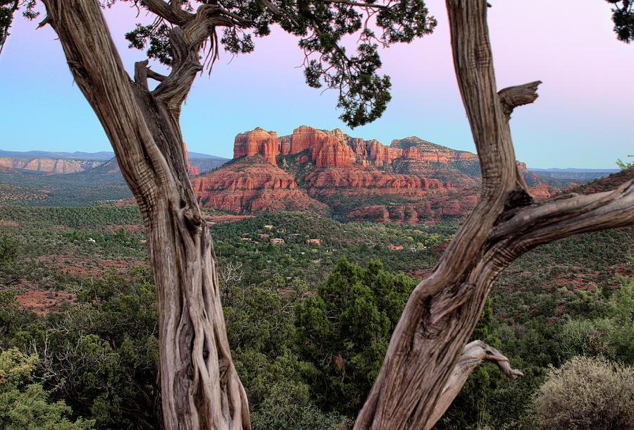 Cathedral Rock Dusk by Robert Blandy Jr