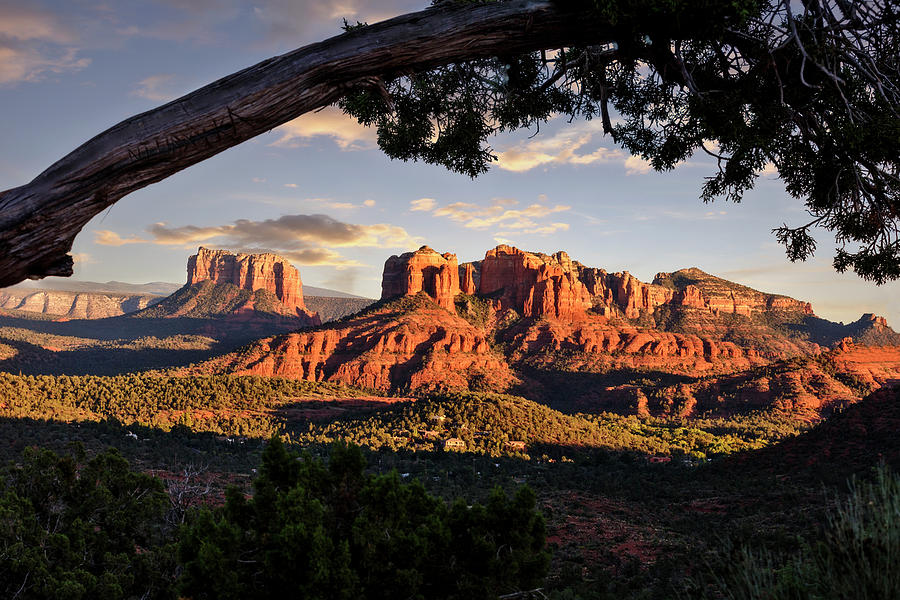 Cathedral Rock Framed Photograph