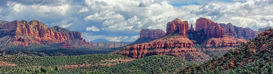 Cathedral Rock Panorama by Robert Blandy Jr
