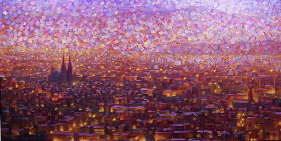 Clermont-ferrand Painting - Cathedrale 1 by Rob Buntin