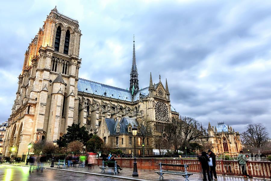 Cathedrale Notre-Dame de Paris by John Rizzuto