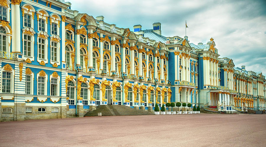 Catherine Palace by Mick Burkey