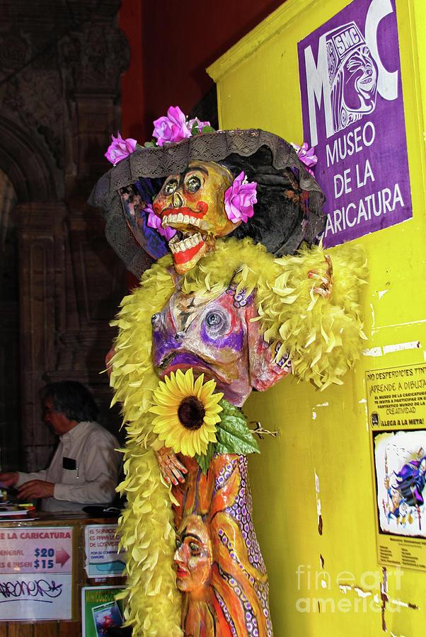 Catrina Museo De La Caricatura Mexico City Photograph By Tatiana