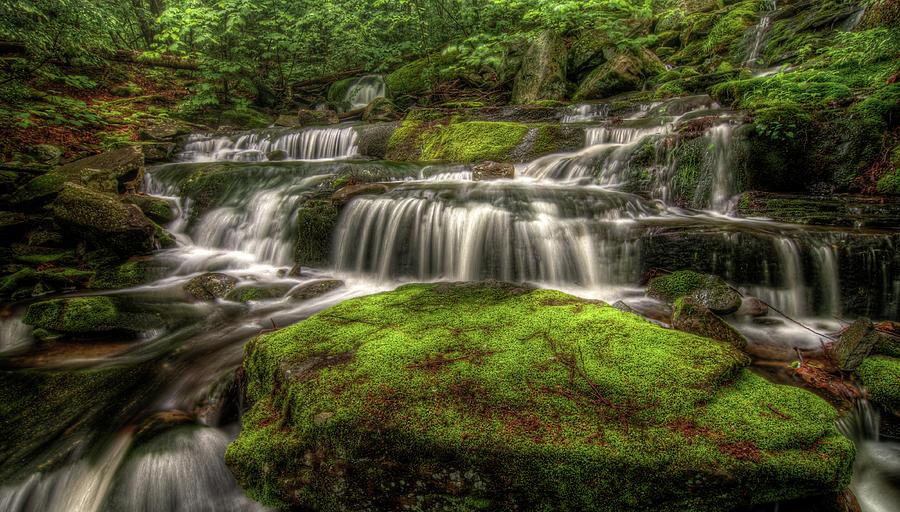 Catskill Waterfall Photograph by Kevin A Scherer