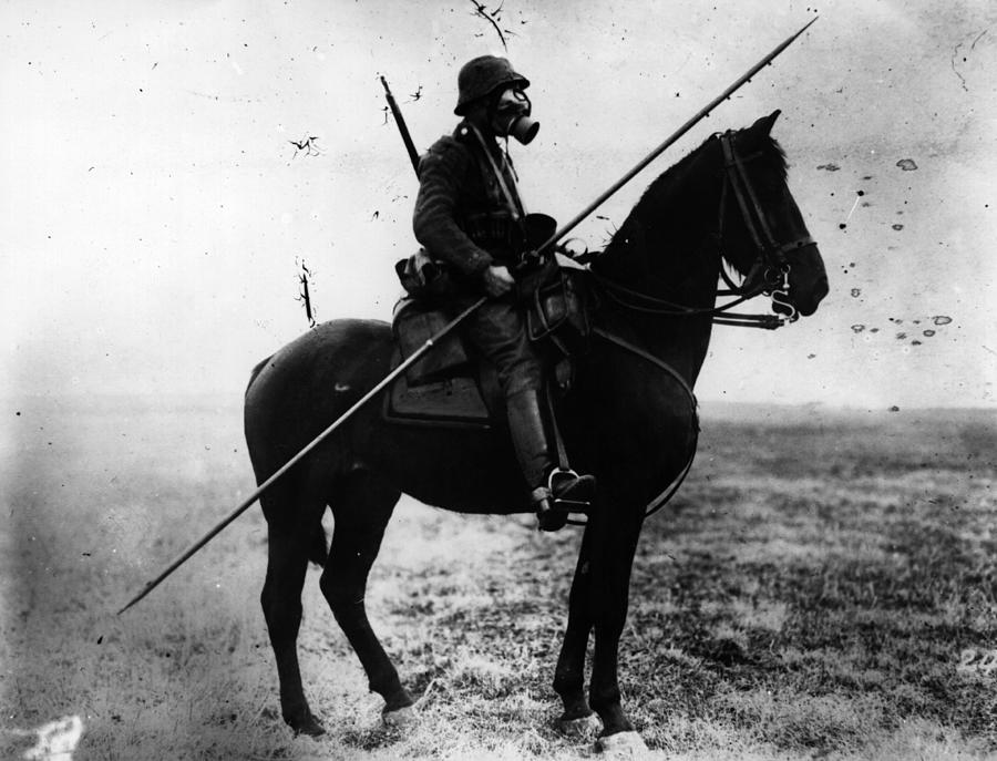 Cavalryman Photograph by Topical Press Agency