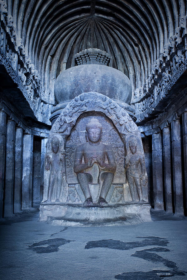 Cave 10 In Ellora, India Photograph by Traveler1116