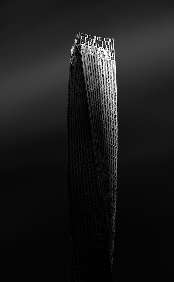 Infinity Photograph - Cayan Tower by Graeme