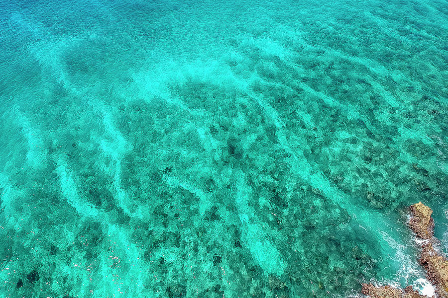 Cayman Reef Aerial by Adam Romanowicz