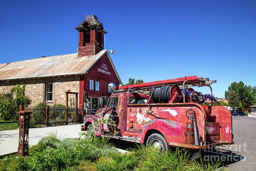 Ridgway Fire Department by Lynn Sprowl