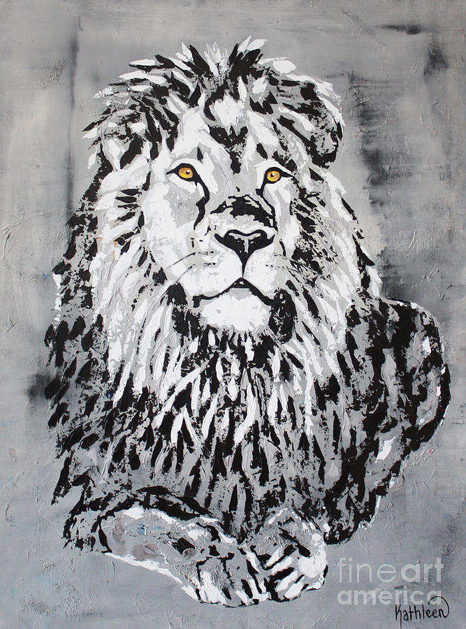 The Lion King Cecil Art Painting Painting