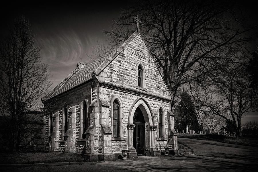 Cedar Hill Photograph - Cedar Hill Chapel by Tom Mc Nemar