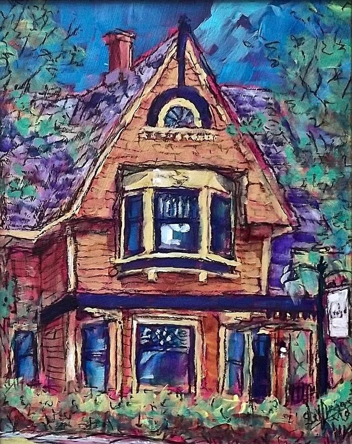 Cedar House by Les Leffingwell