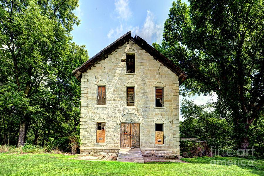 Cedar Point Mill by Jean Hutchison
