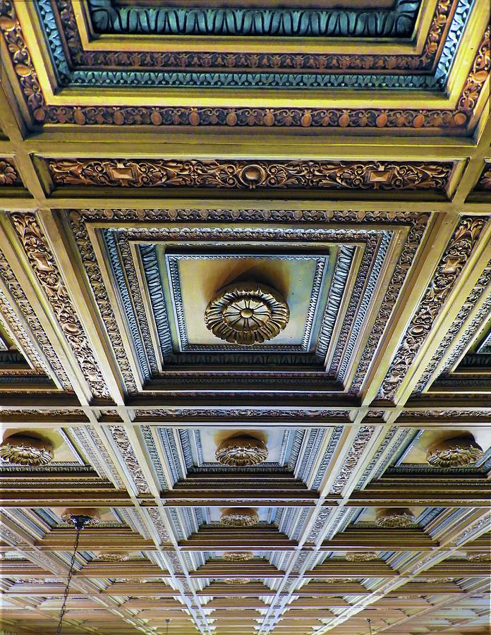 Ceiling, Briscoe Museum of Western Art by Krin Van Tatenhove