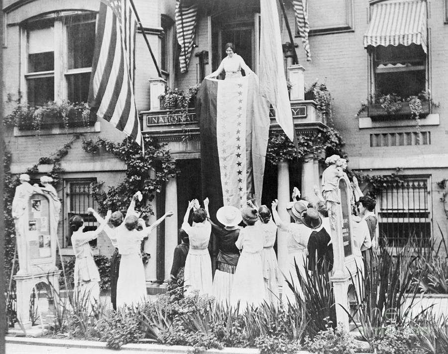 Celebrating The Ratification Photograph by Bettmann