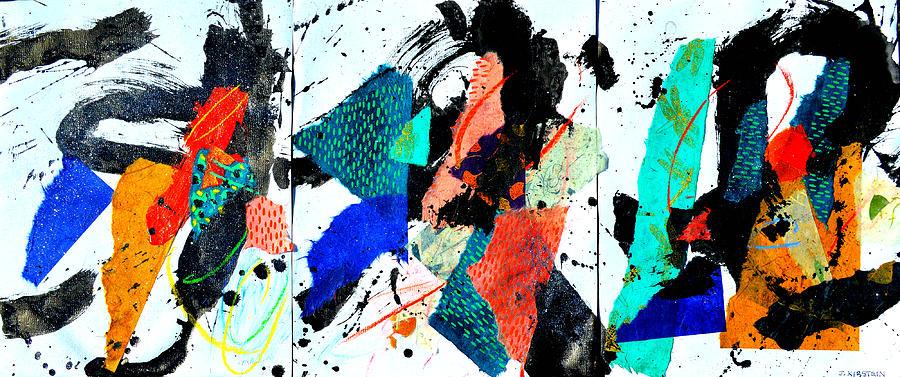 Shazamo 3 Panels by Janis Kirstein