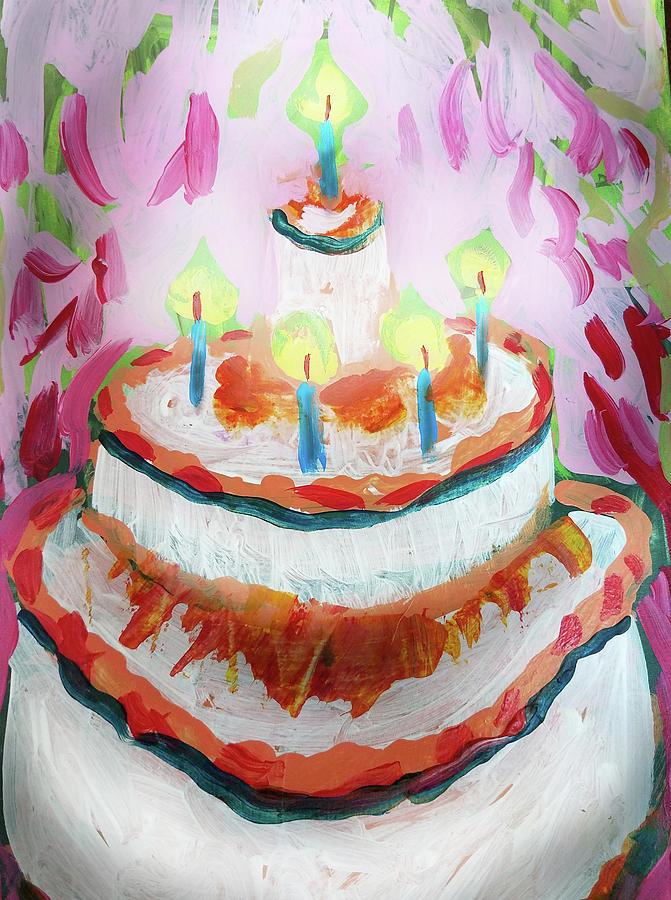 Celebration cake by Tilly Strauss