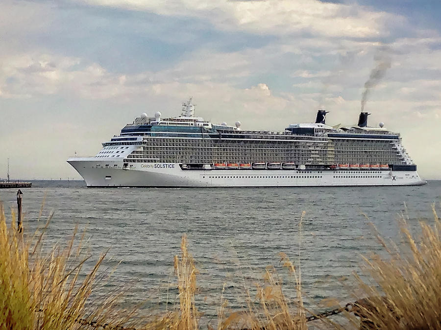 Celebrity Solstice at Port Melbourne by Tony Crehan