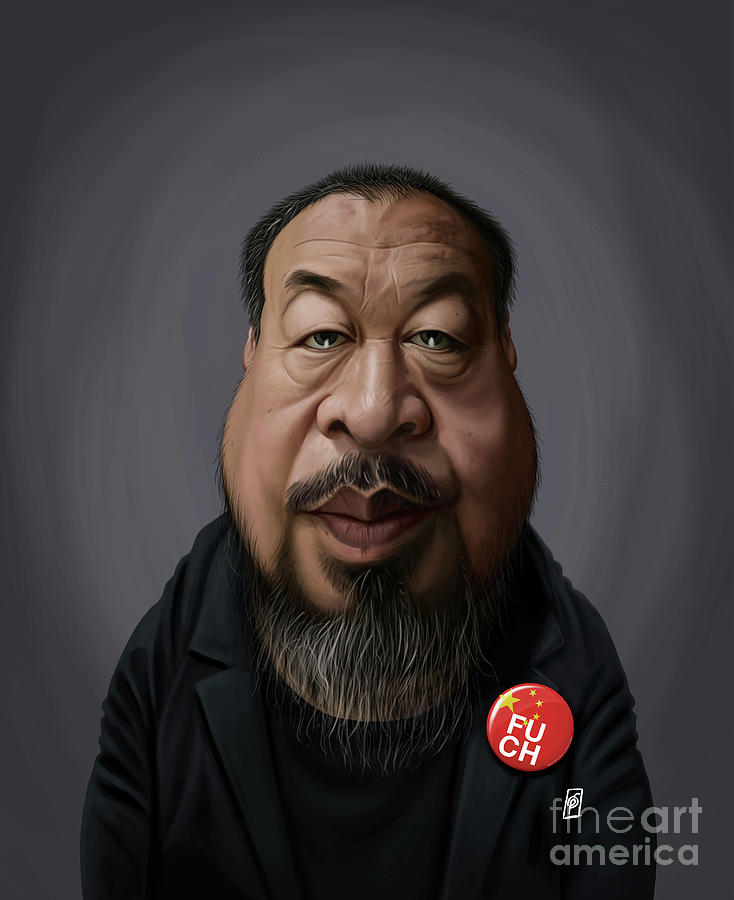 Celebrity Sunday - Ai Weiwei by Rob Snow