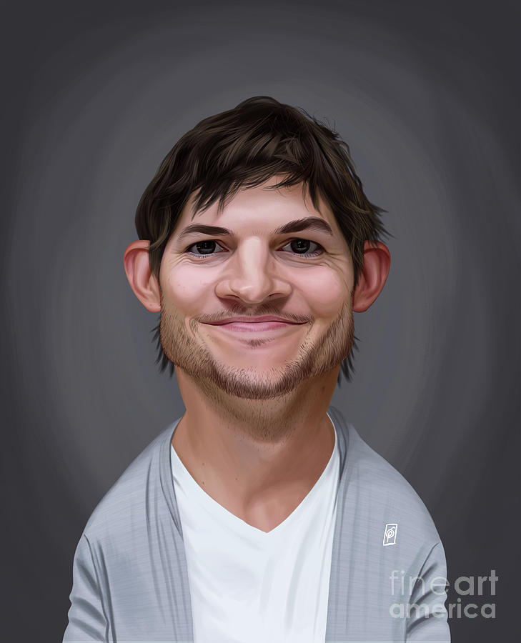 Celebrity Sunday - Ashton Kutcher by Rob Snow