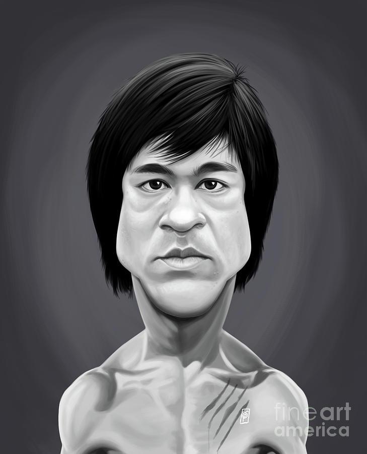 Celebrity Sunday - Bruce Lee by Rob Snow