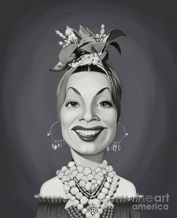 Celebrity Sunday - Carmen Miranda by Rob Snow