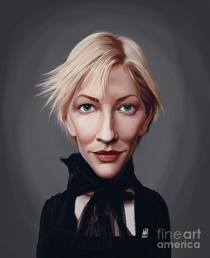 Celebrity Sunday - Cate Blanchett by Rob Snow