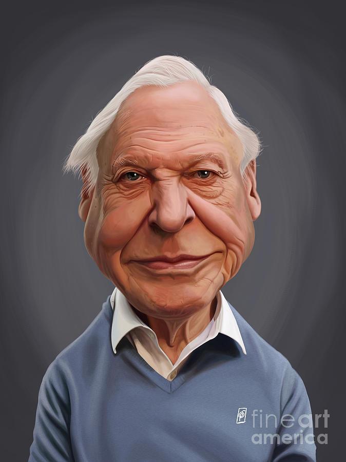 Celebrity Sunday - David Attenborough by Rob Snow