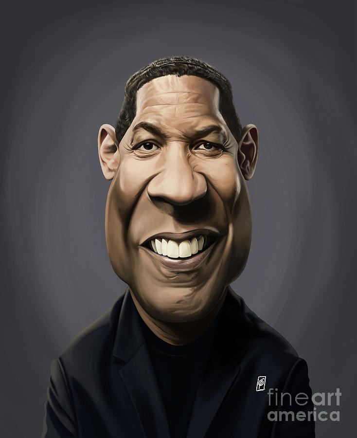 Celebrity Sunday - Denzel Washington by Rob Snow